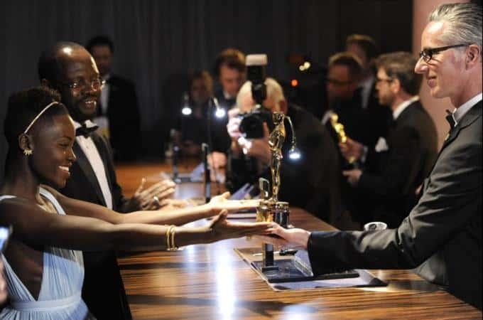 Lupita Nyong'O: Best Supporting Actress Winnrer [Image Attribute: Al Jazeera]